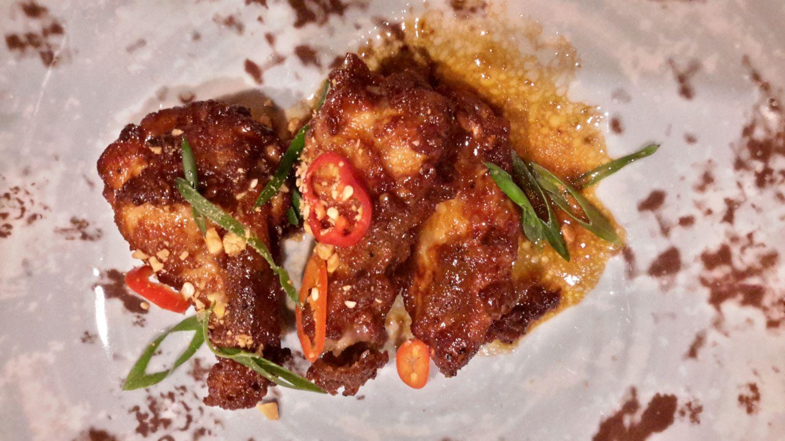 куриные крылья Кунг Пао (420 р)