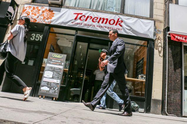 «Теремок» открылся на Манхэттене