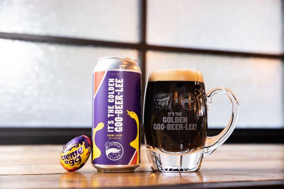 Cadbury выпустила шоколадное пиво со вкусом пасхального яйца