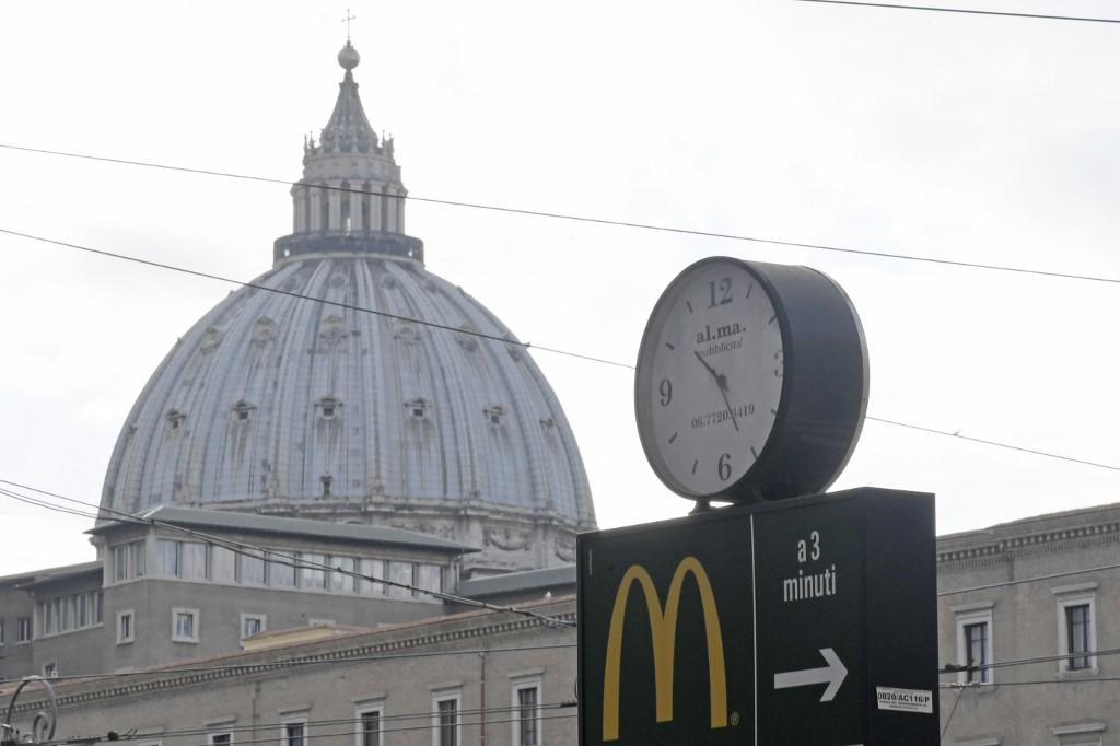В Риме запретили строительство «Макдоналдса»