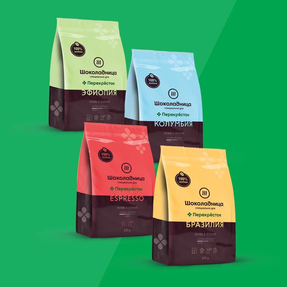 Кофе от «Шоколадницы» стали продавать в «Перекрестке»