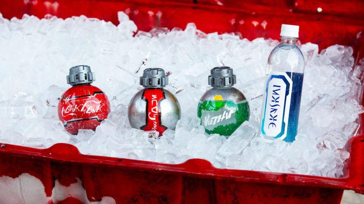 В США запретили провозить бутылки Coca-Cola, созданные по мотивам «Звездных войн»