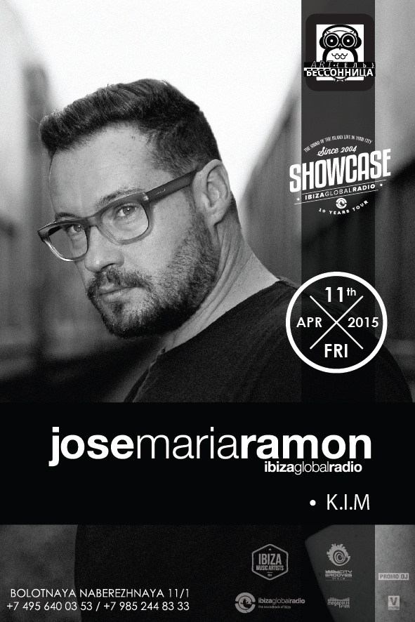 IBIZA GLOBAL RADIO SHOWCASE  DJ JOSE MARIA RAMON
