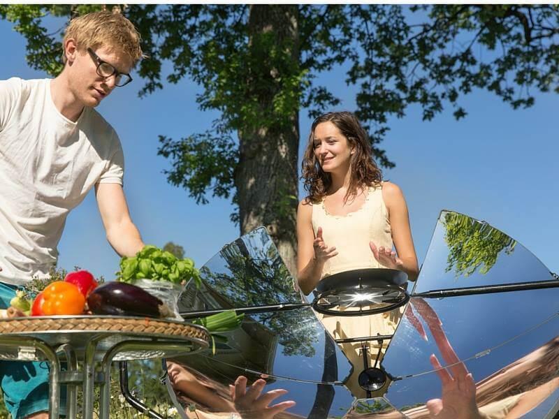 В США создали портативную печь, работающую от солнечной энергии