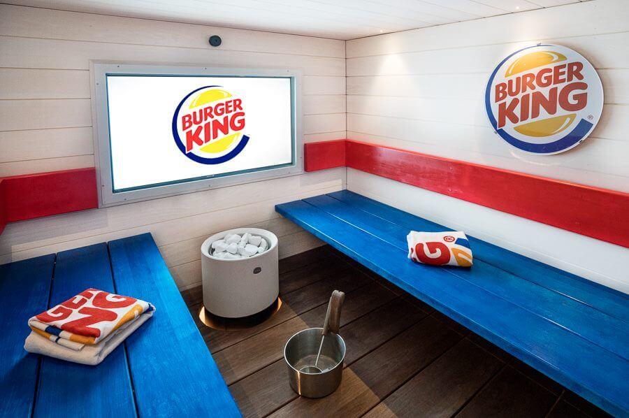 Burger King открыл спа-салон