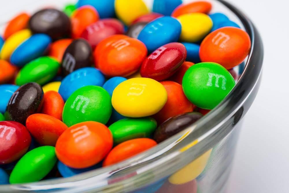 В Швеции запретили продажу M&M's