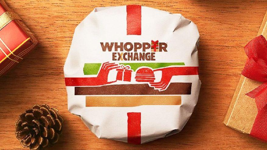 Бургер Кинг обменяет ненужные подарки на вопперы