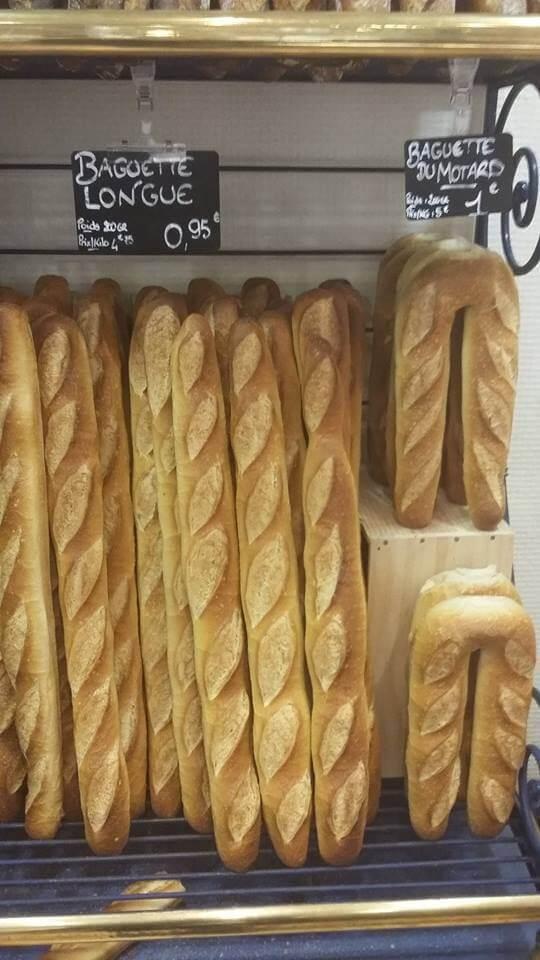 Французские пекари создали багет для байкеров