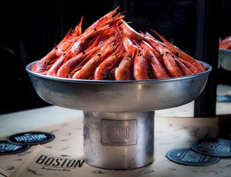 Boston Seafood&Bar: импортозамещение с приятным вкусом