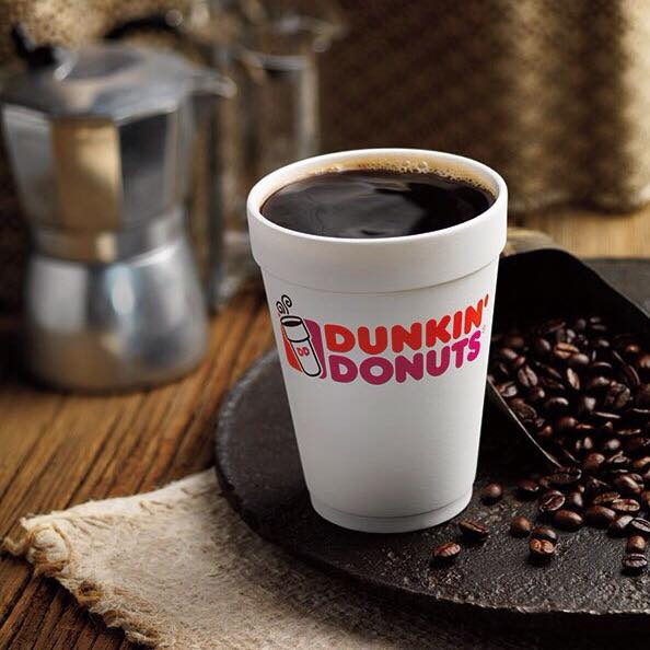 Dunkin' Donuts полностью перейдет на бумажные стаканчики для кофе