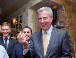 Мэр Нью-Йорка получил ключи от ресторана «Мари Vanna»