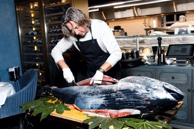 В Pescatore стартует новый сезон «Гала ужинов огромного Тунца»