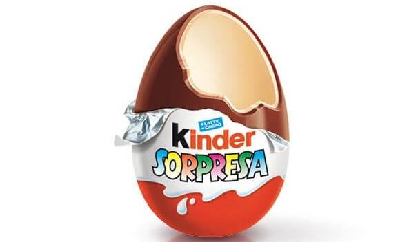 Производитель Kinder уберет из шоколада химическое масло