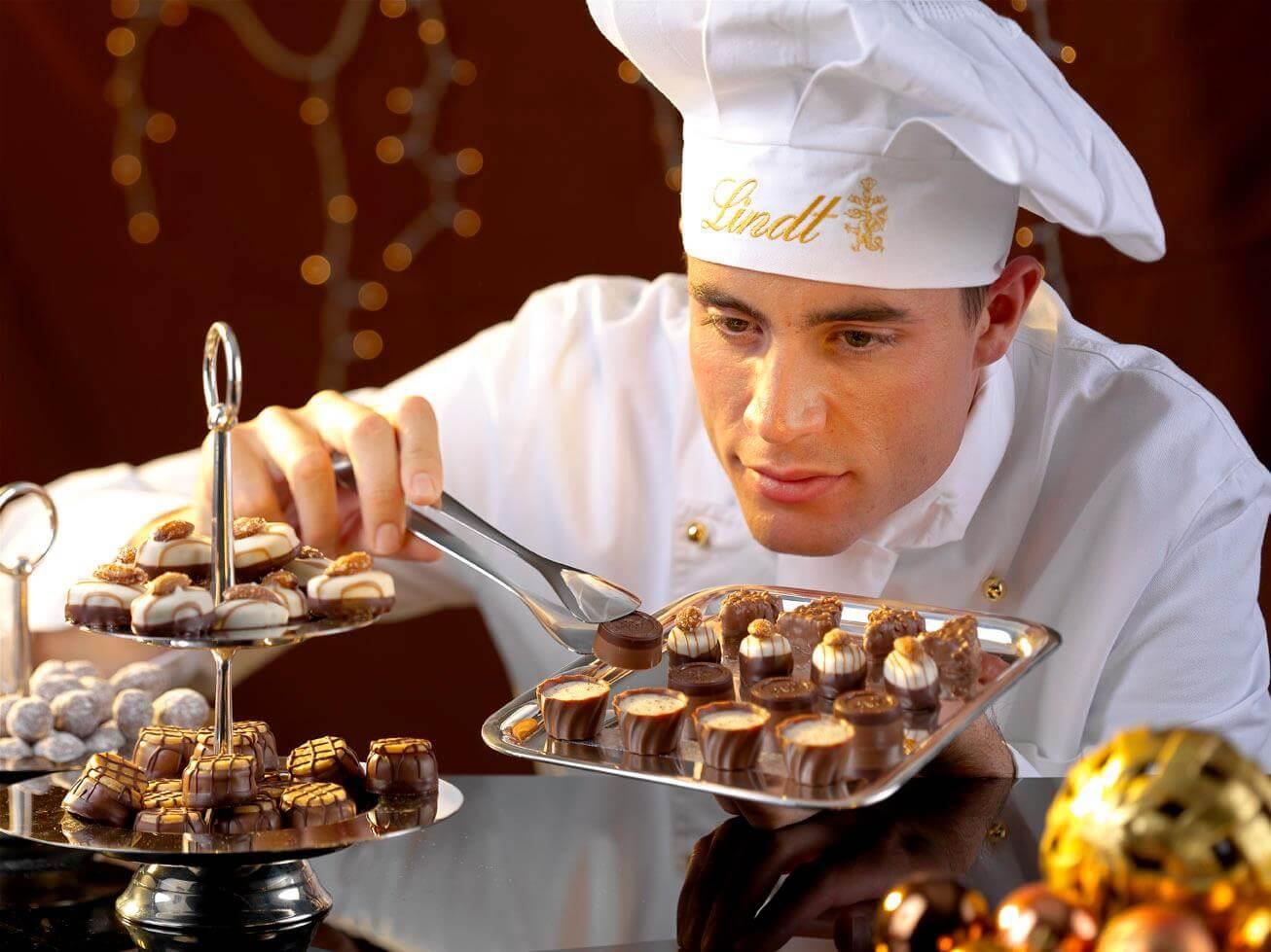Швейцарская компания Lindt откроет первый шоколадный бутик в России