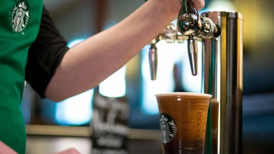 В меню Starbucks появится газированный кофе с азотом