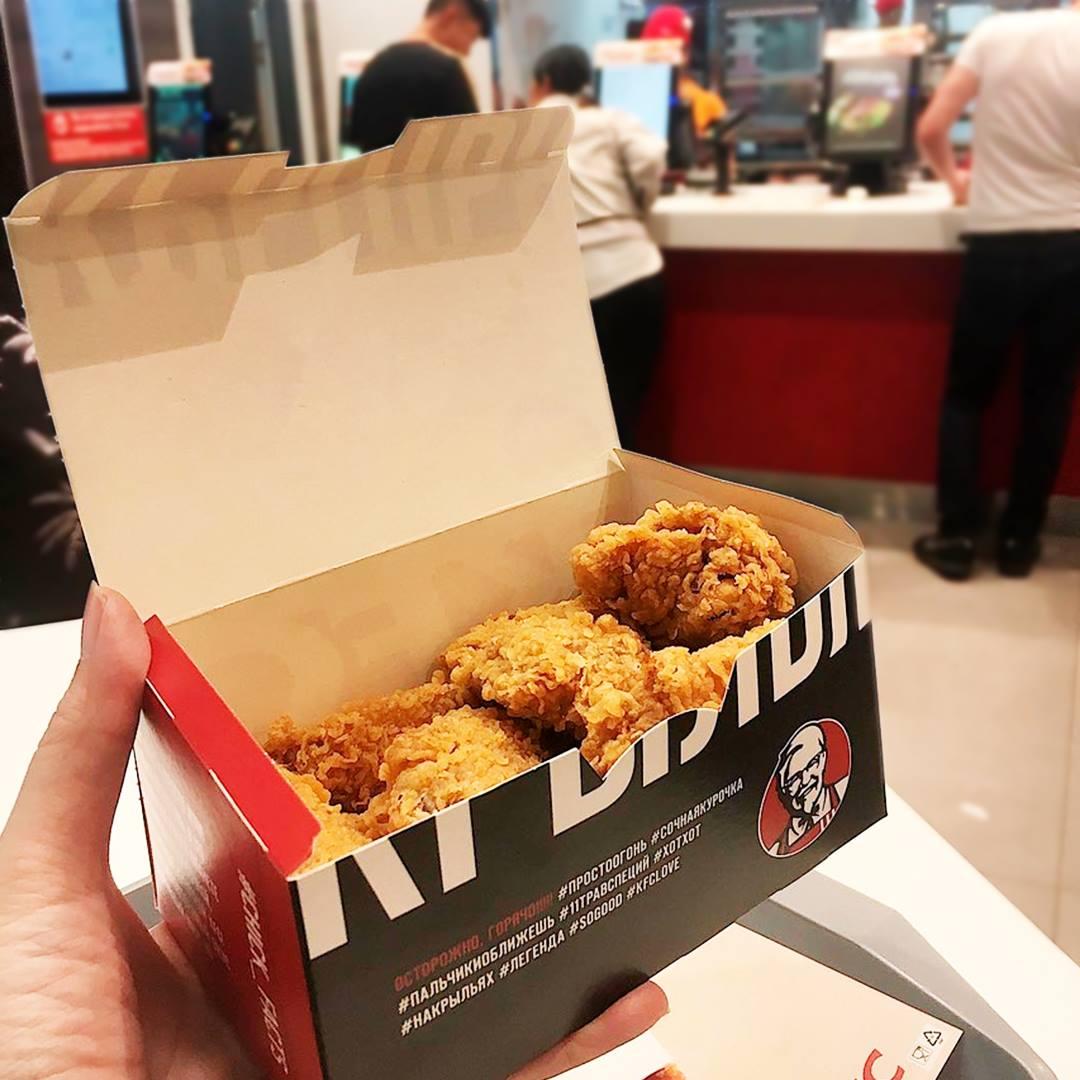 Наггетсы для российского KFC начнут печатать на 3D-принтере