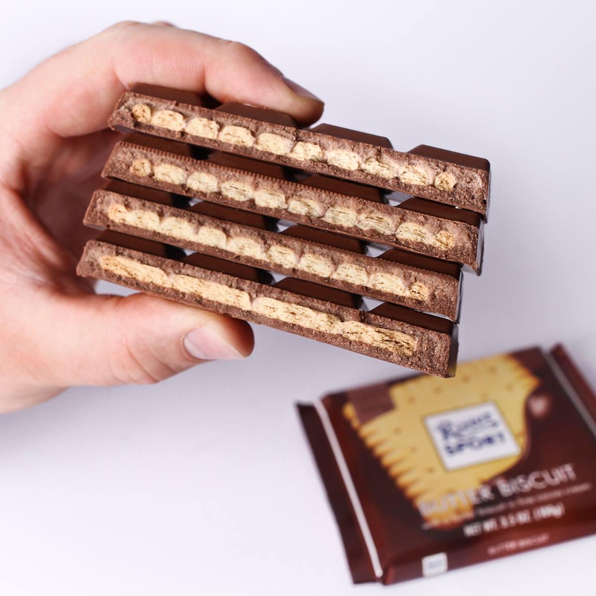 Ritter Sport победил в шоколадной войне с Milka