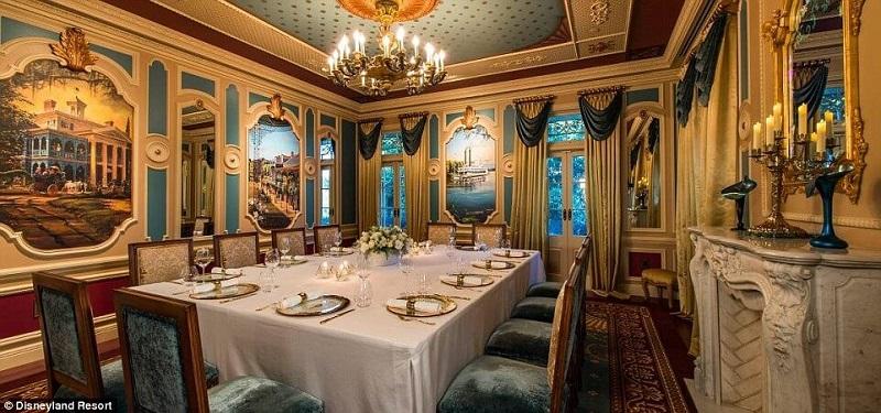 В Диснейленде открыли ресторан-квартиру Уолта Диснея