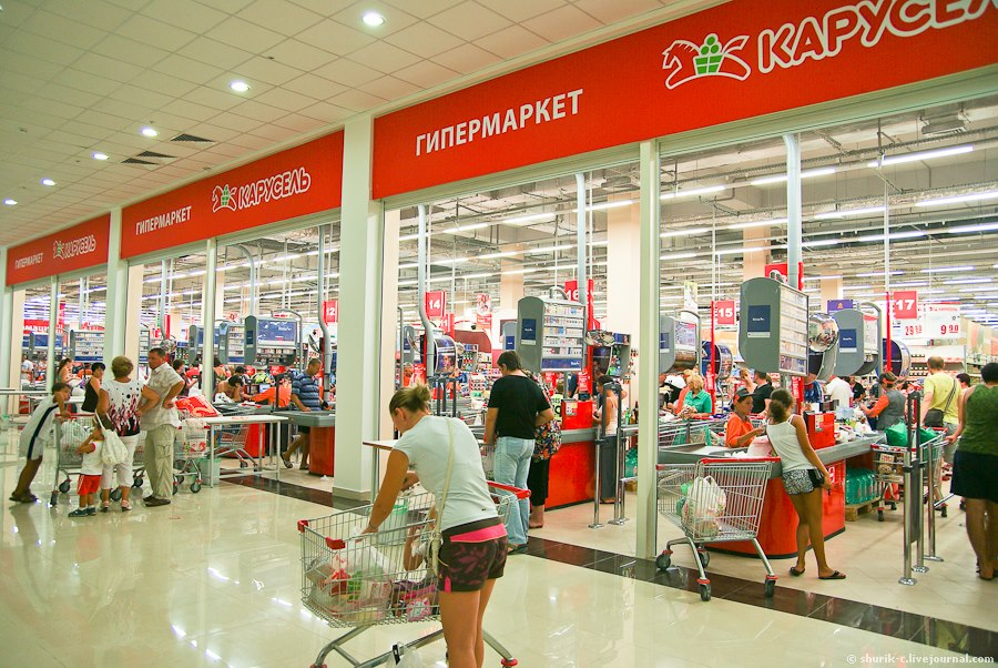 Российские супермаркеты превратят в гастромаркеты