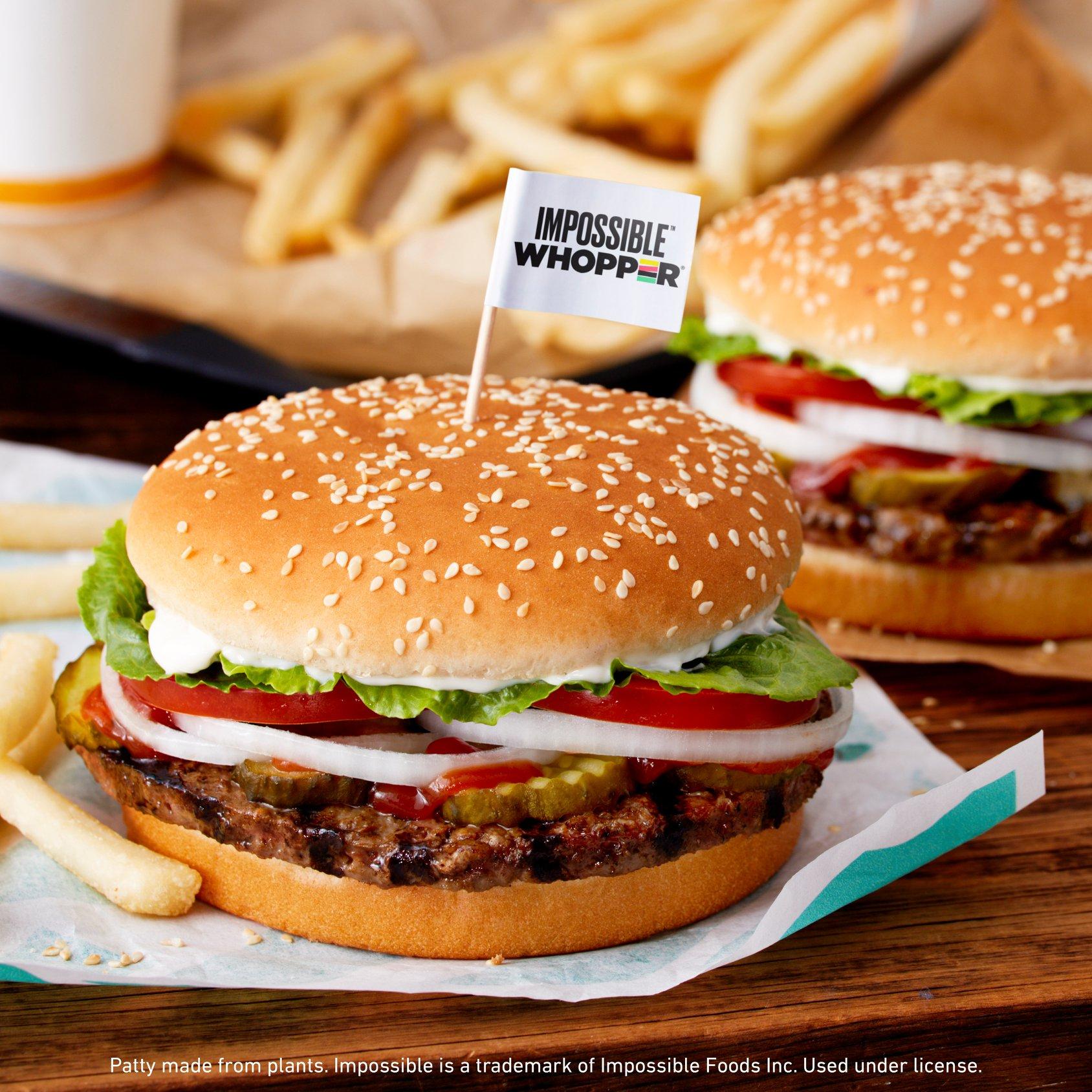 Burger King начнет подавать вопперы в многоразовой посуде