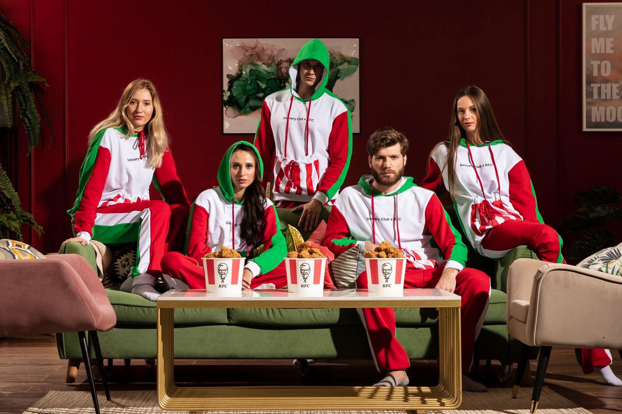 Delivery Club и KFC выпустили пижамы с карманом для баскета