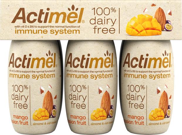 Actimel начнут делать из растительного молока