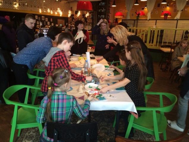 Детские мастер-классы в кафе «Лейка»