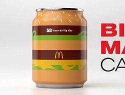 Макдоналдс выпустил лимитированную Coca-Cola к 50-летию Биг Мака