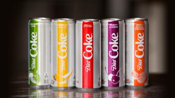 Coca-Cola выпустила 4 новых вкуса диетической колы