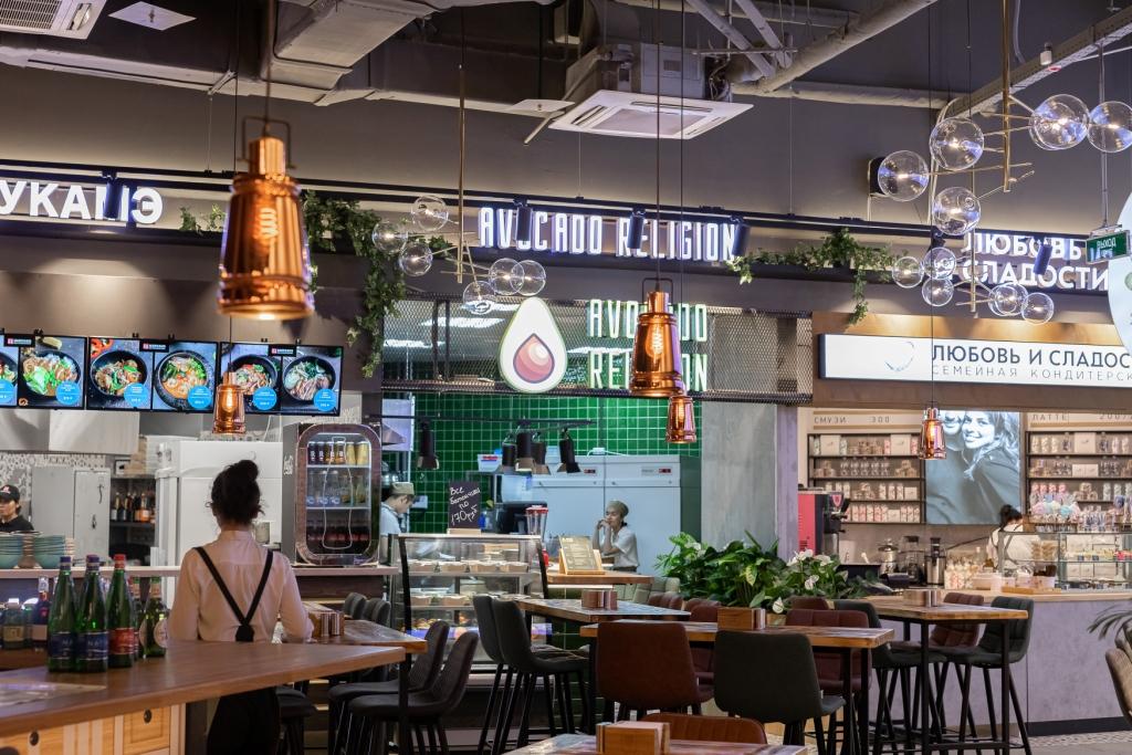 В Москве открыли третий Eat Market