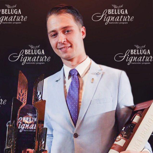 Лондонский бармен стал лучшим по версии Beluga Signature