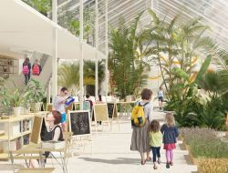 Ginza Project предложила концепт реконструкции оранжерей Таврического дворца