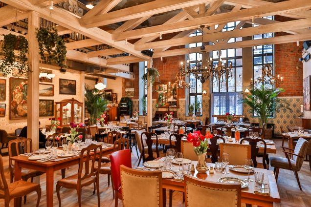 Аркадий Новиков открыл  ресторан с домашней гастрономической кухней