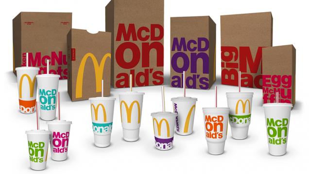 «Макдоналдс» изменит дизайн упаковки своей продукции