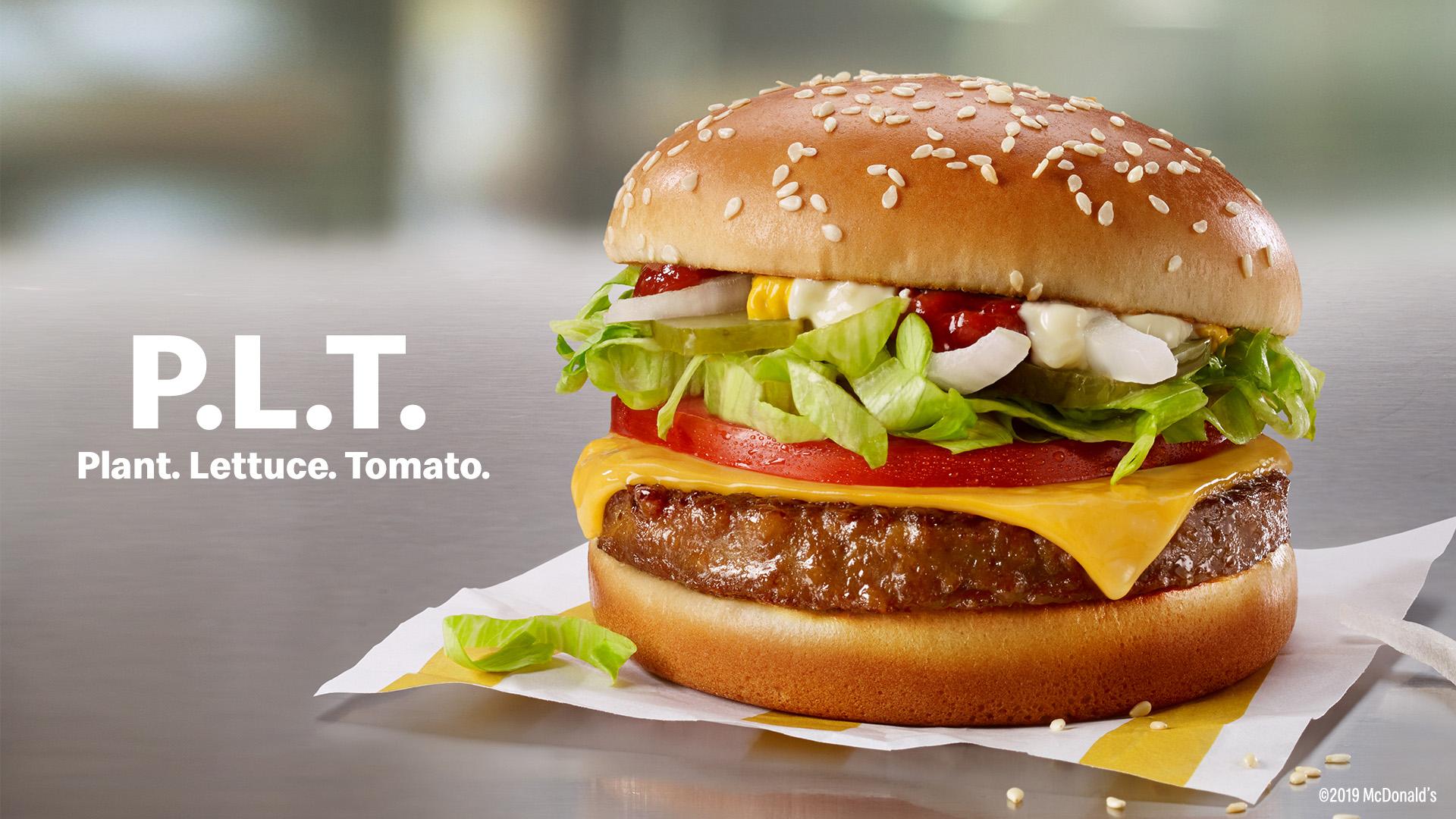Канадский «Макдоналдс» добавит в меню растительные бургеры