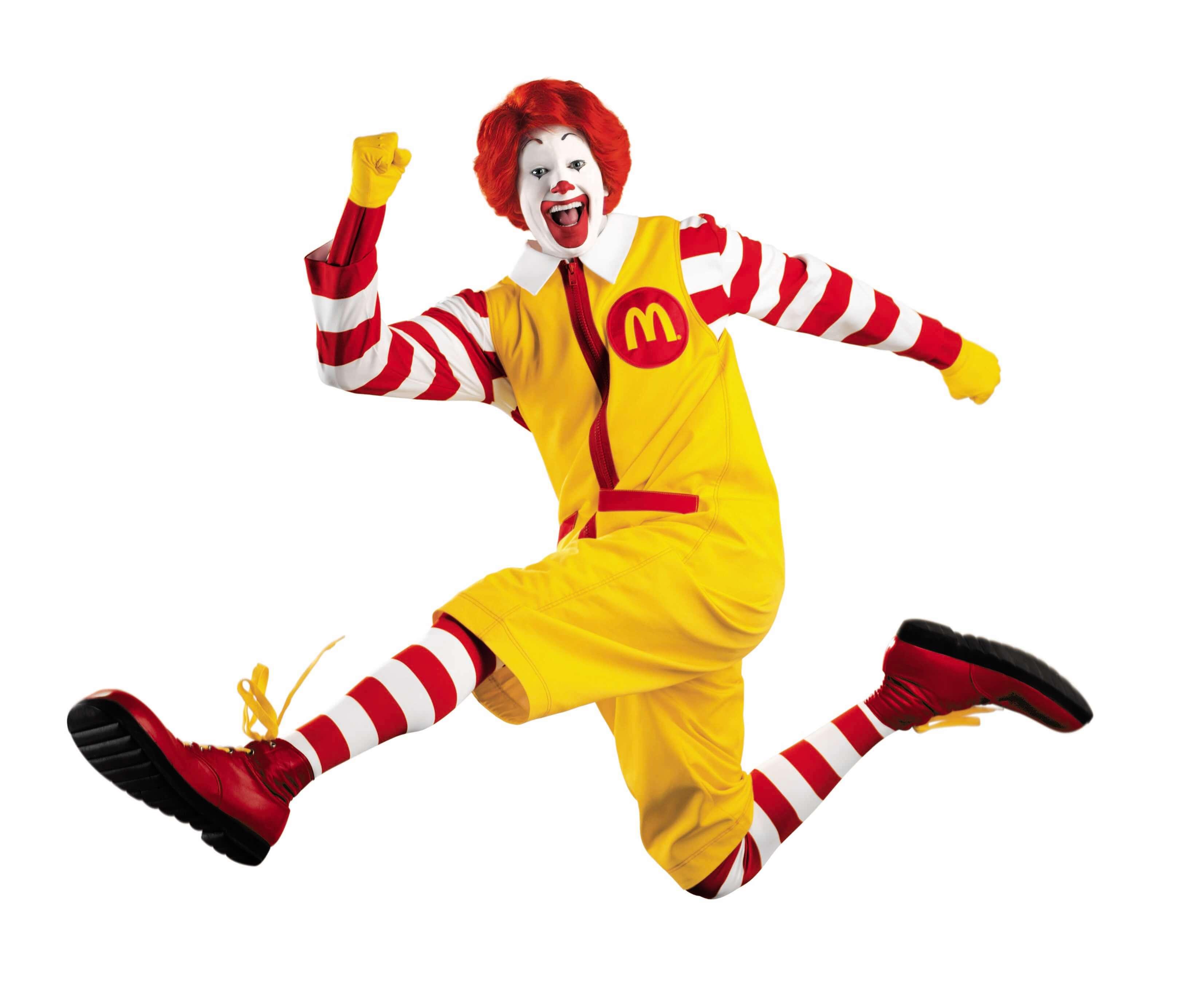 Роналд Макдоналд уходит из Макдоналдса