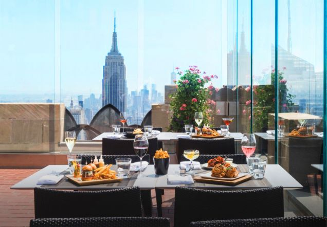 5 ресторанов Нью-Йорка с панорамным видом
