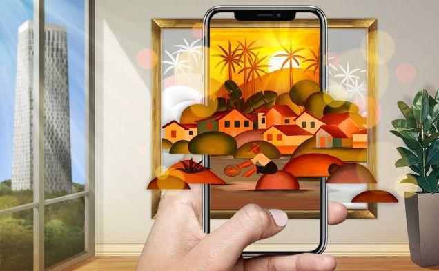 AR-выставка от Shazam в ресторане «Наволне by Soho Rooms»