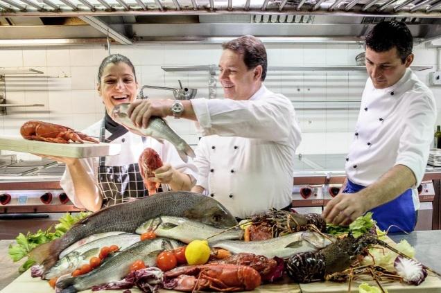 Гастроли итальянского шеф-повара Антонелло Арруса (курорт Forte Village, ресторан Belvedere)
