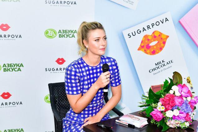 Мария Шарапова презентовала премиальный шоколад SUGARPOVA собственного производства