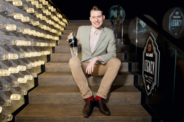 Александр Калачев из 15 Kitchen + Bar стал лучшим бартендером России по версии BACARDÍ