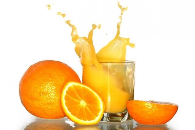 Апельсиновый сок полезнее, чем апельсины