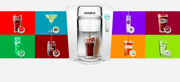 В продаже появились автоматы по приготовлению Coca-Cola