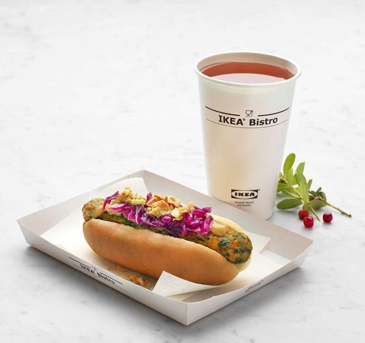 IKEA введет в меню веганский хот-дог