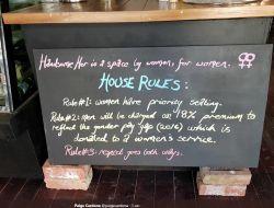 Кафе для женщин в Австралии ввело налог для мужчин
