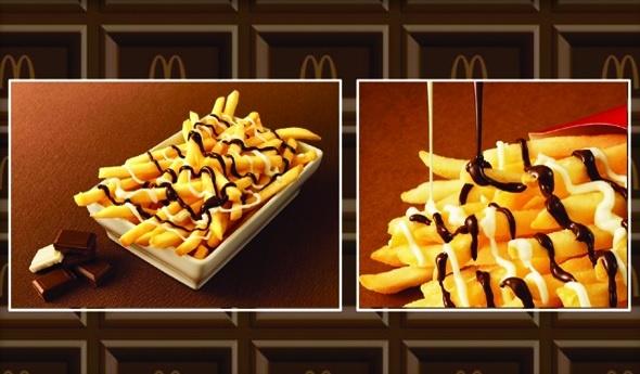 В «Макдоналдсе» стартуют продажи шоколадной картошки-фри