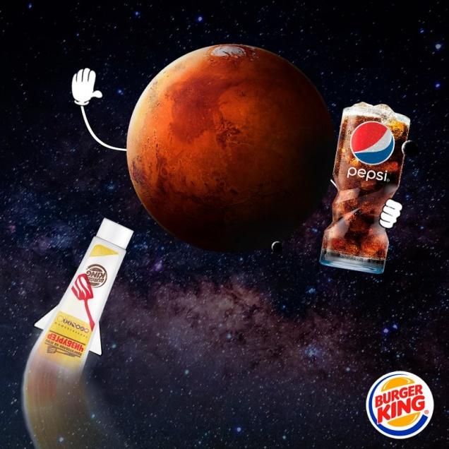 Burger King накормит астронавтов космическими бургерами