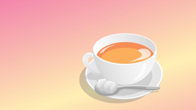 Количество сахара в чае говорит о ваших доходах