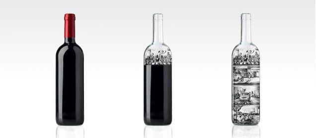 SimpleWine создала бутылку-страшилку «Don't Reach The Bottom»