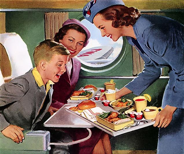 Почему пить и есть в самолете опасно?